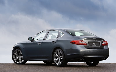 2011 Infiniti M37S Rear Side View