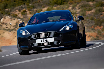 2010 Aston Martin Rapide Black Color