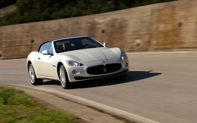2011 Maserati Granturismo Convertible Test Road