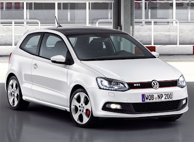 2011 Volkswagen Polo GTI Front Angle View