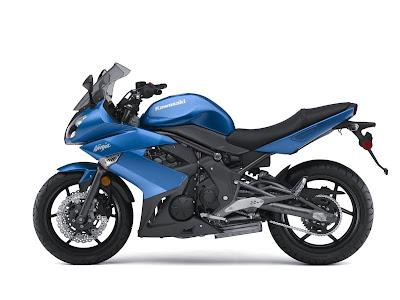 2010 Kawasaki Ninja 650R Motorcycle