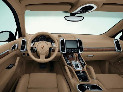 2011 Porsche Cayenne Car Interior
