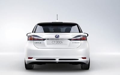 2011 Lexus CT 200h Rear View
