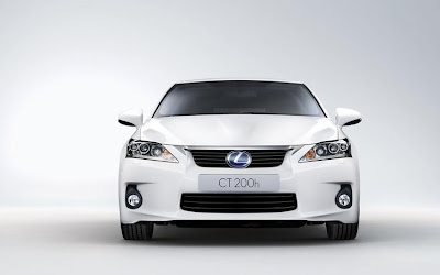 2011 Lexus CT 200h Front View