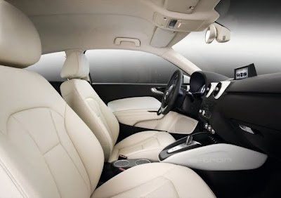 2010 Audi A1 e-Tron Seats