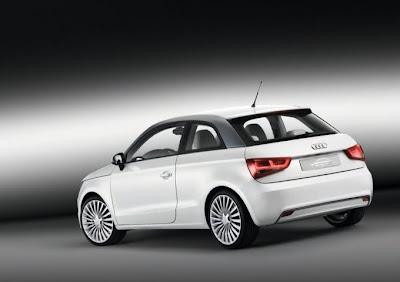 2010 Audi A1 e-Tron Rear Side View