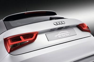 2010 Audi A1 e-Tron Taillight View