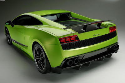 2011 Lamborghini Gallardo LP 570-4 Superleggera Rear View