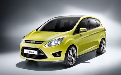 2012 Ford C-Max Front Angle View