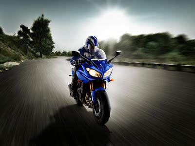 2010 Yamaha Fazer8 ABS Action View