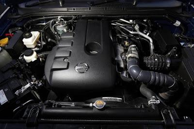 2010 Nissan Navara ST-X Engine Photo