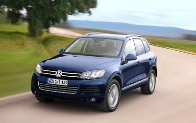 2011 Volkswagen Touareg Test Road