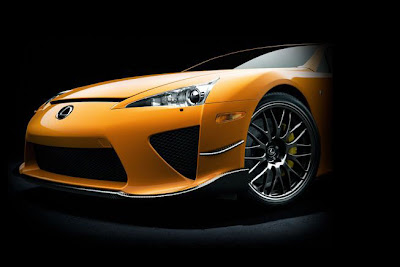 Lexus LFA Special Edition Front Light