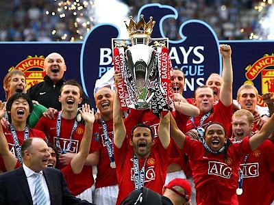 Manchester United Football Team Celebration
