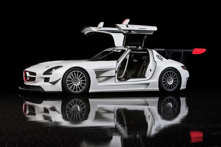 2010 Mercedes Benz Sls Amg Gt3 Swing Door