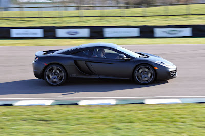 2011 McLaren MP4-12C Side Action View
