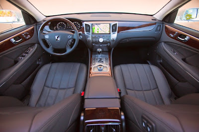 2011 Hyundai Equus Interior View