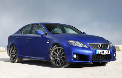 2011 Lexus IS F First Look