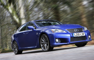 2011 Lexus IS F Car Wallpaper