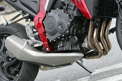 2010 Honda CB1000R Engine View