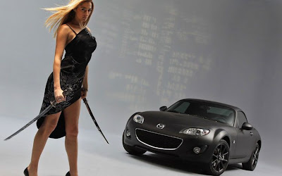 Modern Cars Mazda MX5 Matte Black Special Edition Photos