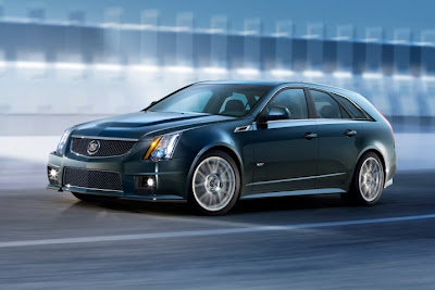 2011 Cadillac CTS-V Sport Wagon First Look