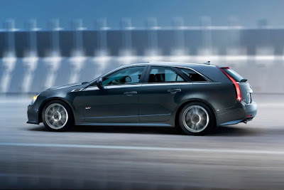 2011 Cadillac CTS-V Sport Wagon Side View