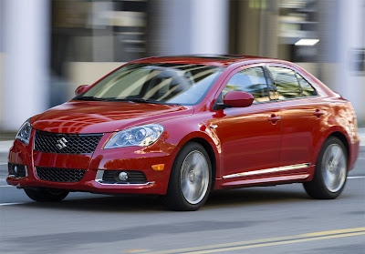 2011 Suzuki Kizashi Sport Car Wallpaper