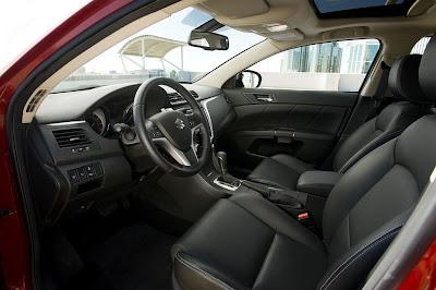 2011 Suzuki Kizashi Sport Front Seats