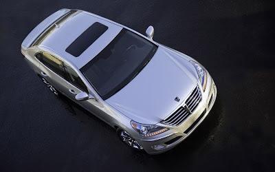 2011 Hyundai Equus Overhead