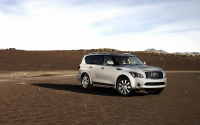 2011 Infiniti QX56 Car Wallpaper