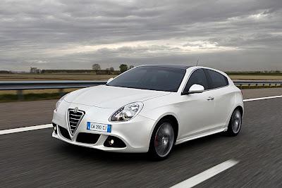 2011 Alfa Romeo Giulietta Test Road