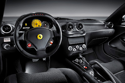 2011 Ferrari 599 GTO Car Interior