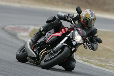 2010 Honda CB1000R Front Action View