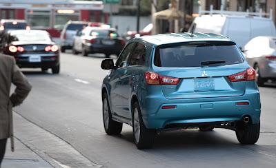 2011 Mitsubishi Outlander Sport Rear View
