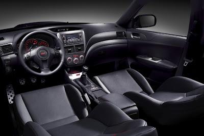 2011 Subaru Impreza WRX STI Car Interior