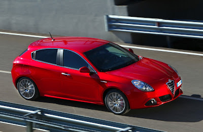 2011 Alfa Romeo Giulietta Red Color