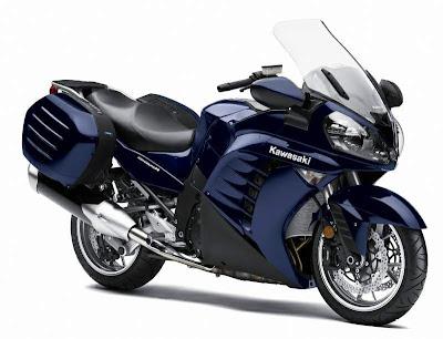 2010 Kawasaki GTR 1400 Concours Sport Touring Bike