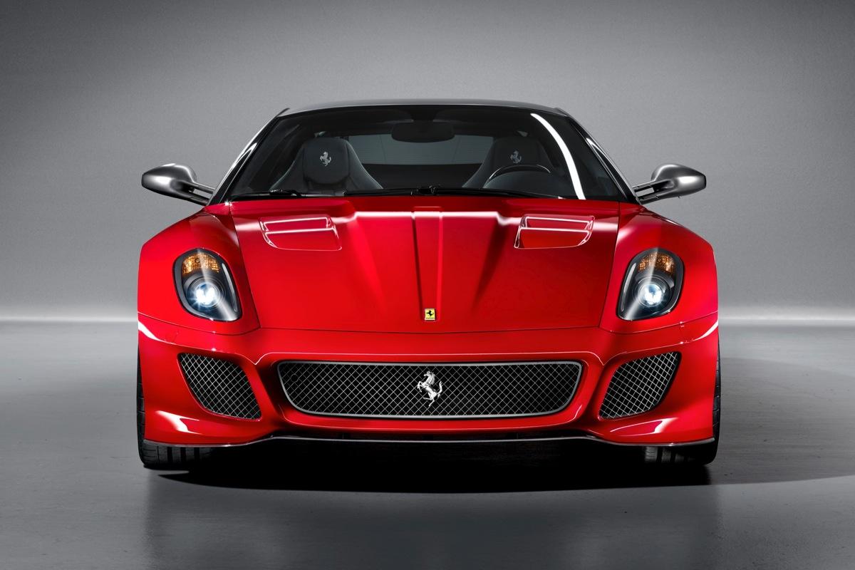 2011 Ferrari 599 GTO Front View