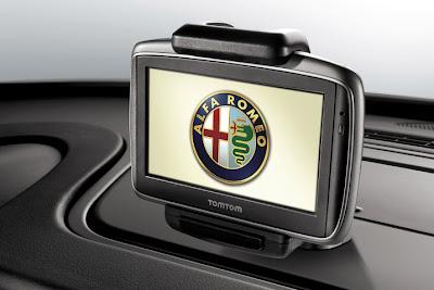 2011 Alfa Romeo Giulietta GPS View