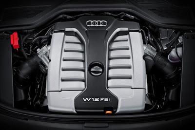 2011 Audi A8 L Engine