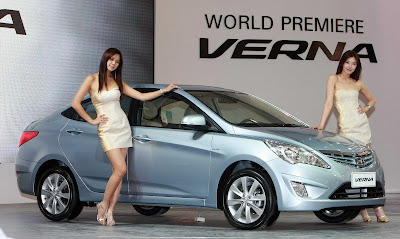 2011 Hyundai Verna-Accent Side View