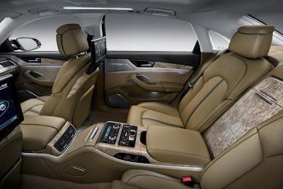 2011 Audi A8 L Car Interior