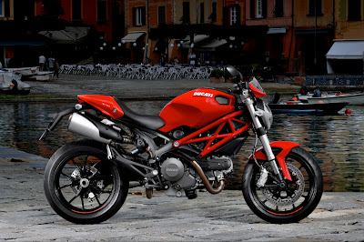 2011 Ducati Monster 796 Red
