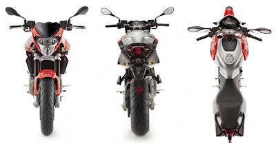 2010 Aprilia Shiver 750 Official Pictures