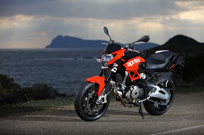Automotif Motor Aprilia Shiver 750 Official Pictures