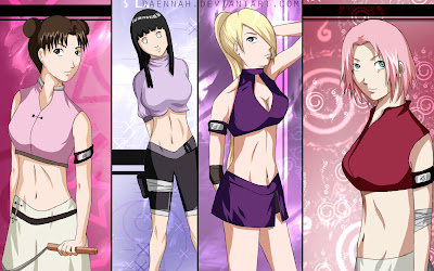 Naruto Girls Gallery