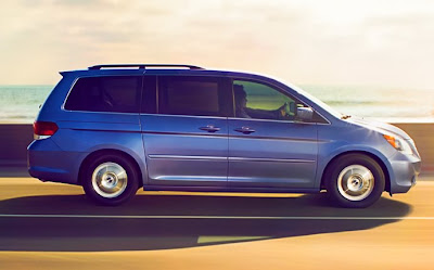 2010 Honda Odyssey Side View