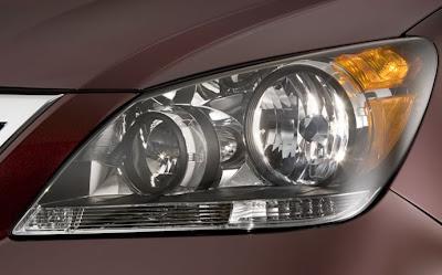 2010 Honda Odyssey Headlight