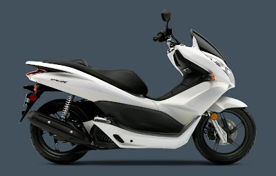 2011 Honda PCX Sporty Scooter